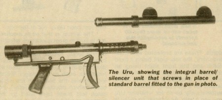 Uru silencer with integral sights