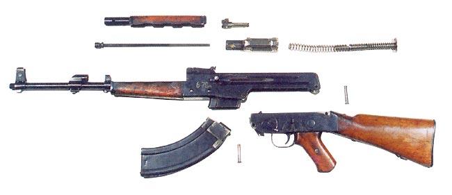 Kalashnikov prototype AK-46 rifle