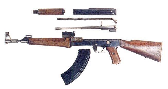 Production Type I AK-47 rifle