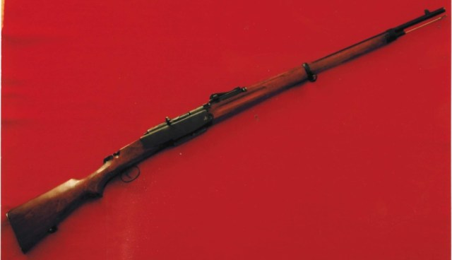 Mystery Swedish rifle