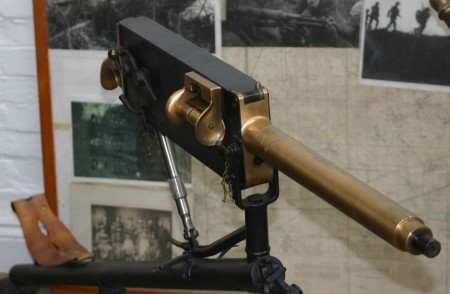Lightweight air-cooled Maxim gun