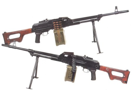 Early PK machine gun
