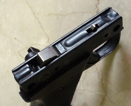 MG39 Rh trigger group (top view)