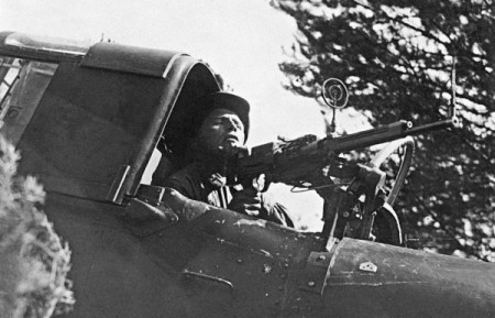 ShKAS mounted on an IL-2
