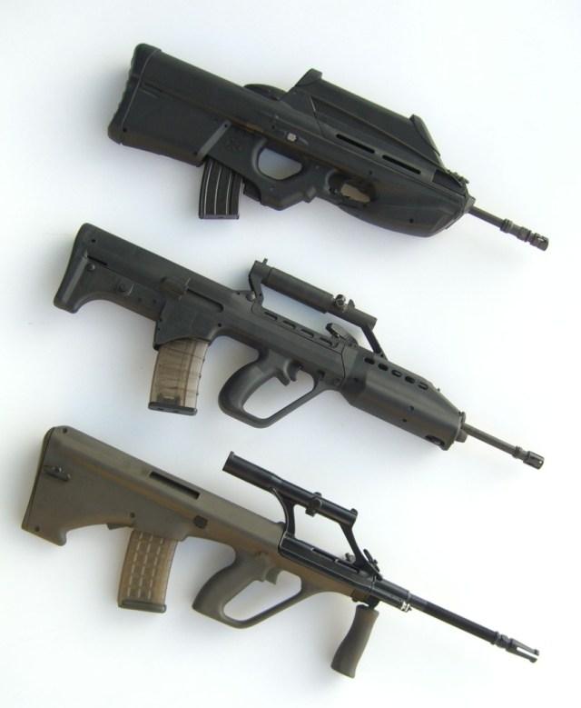 FN2000, SAR-21, AUG