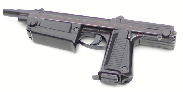 First production model of the PM-63 machine pistol