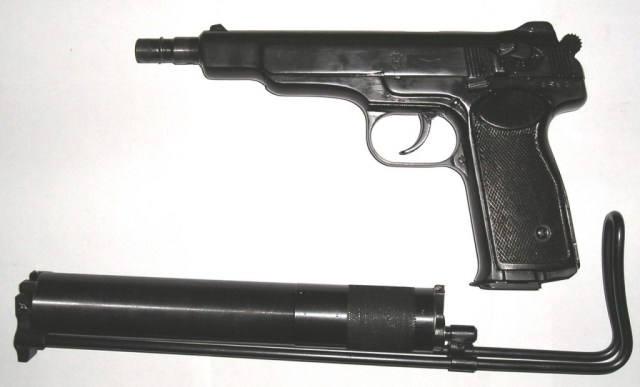 Soviet APB silenced machine pistol