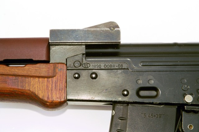1990 Onyks rear sight