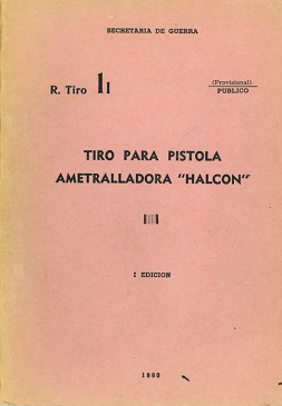 Argentine Halcon SMG Training Manual (Spanish, 1960)