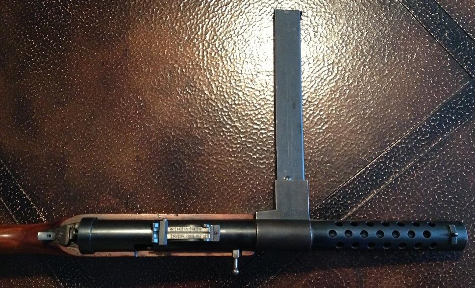 Daniels Rapid-Fire Carbine