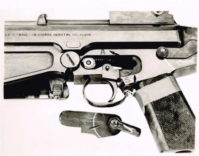 8mm Kurz FAL prototype, trigger mechanism