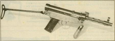 Prototype Argentine SMG by Juan Lehnar