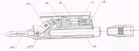 Hotchkiss M1922 bolt and carrier