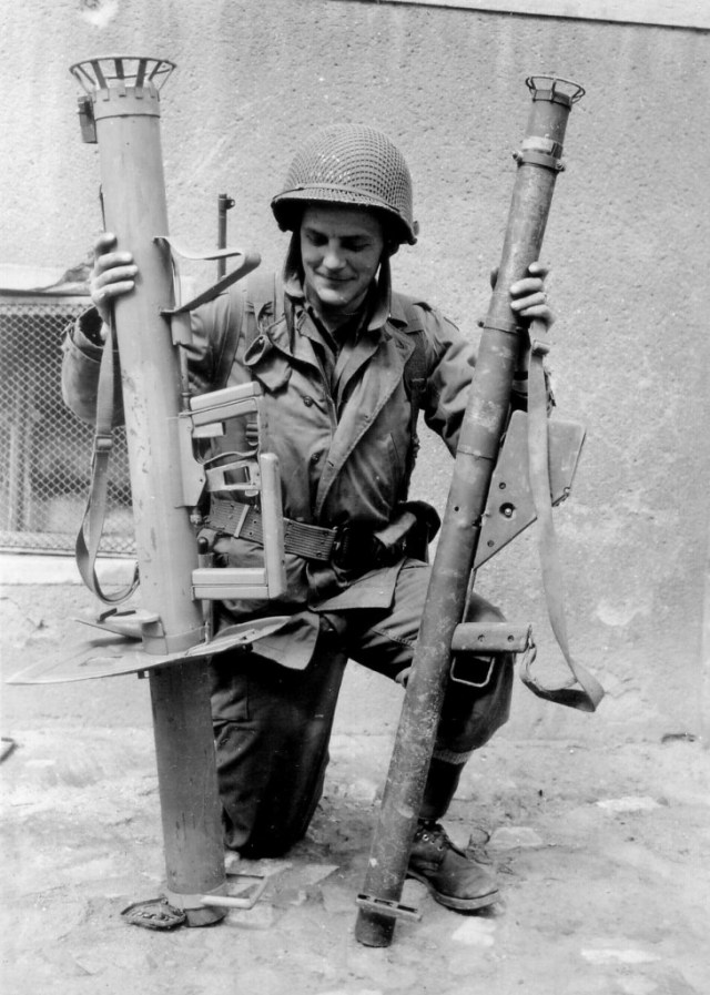 Panzerschreck and Bazooka