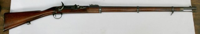 Fosbery breechloading rifle