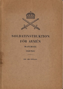 Soldatinstruktion for Armen (Swedish, 1951)