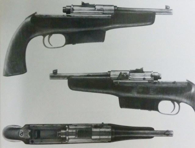 Clausius model 1895 pistol