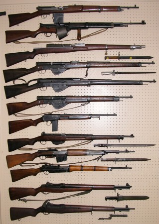 Wall O' Expensive Rifles