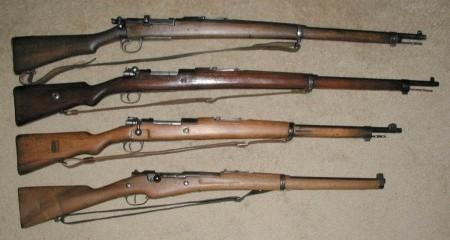 Turkish bolt action rifles