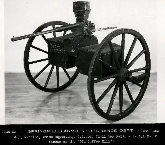 Union Repeating Gun