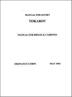 Tokarov (sic) Rifles Manual (English, 1954)