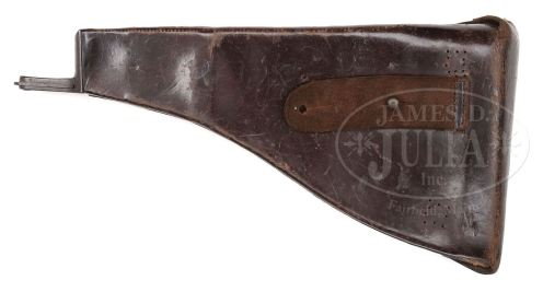 Holster-stock for 1903 Bergmann Mars pistol