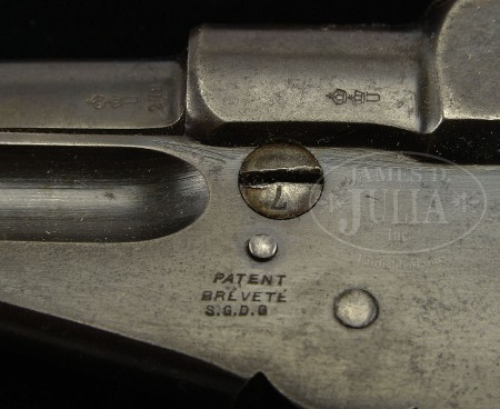 Thai marked Bergmann No.3 pistol