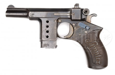 Late production Bergmann Simplex pistol