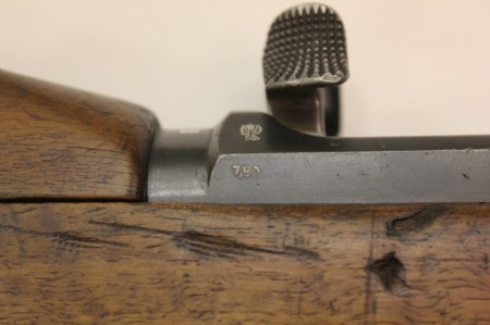 Mauser M1915 proof and bore measurement