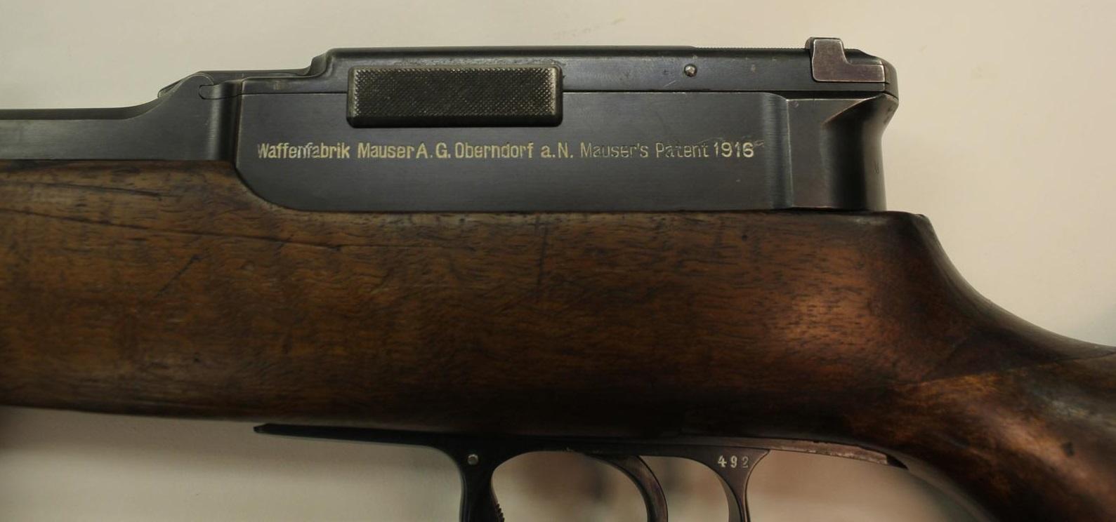 Mauser Selbstlader – Forgotten Weapons