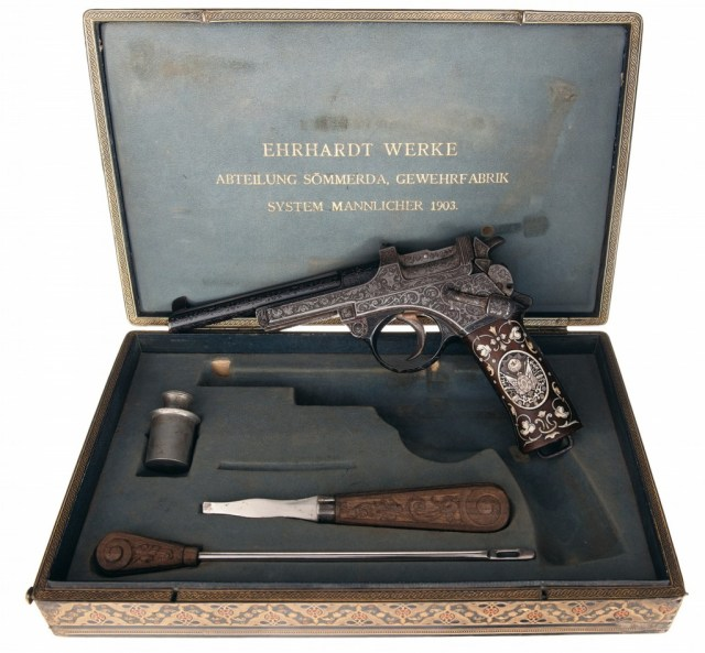 M1900 Mannlicher pistol for the Sultan of Turkey