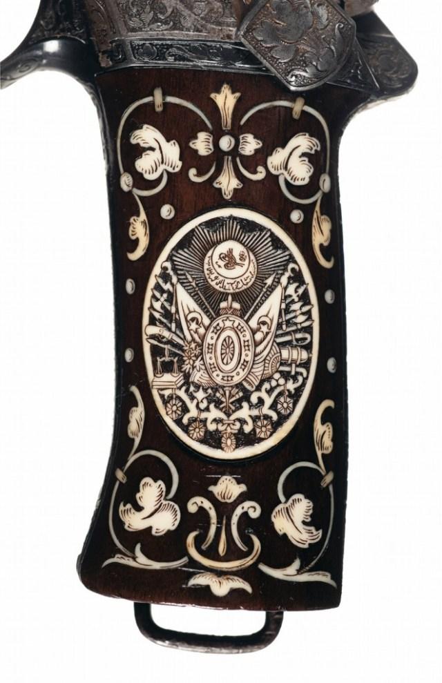 M1900 Mannlicher pistol for the Sultan of Turkey
