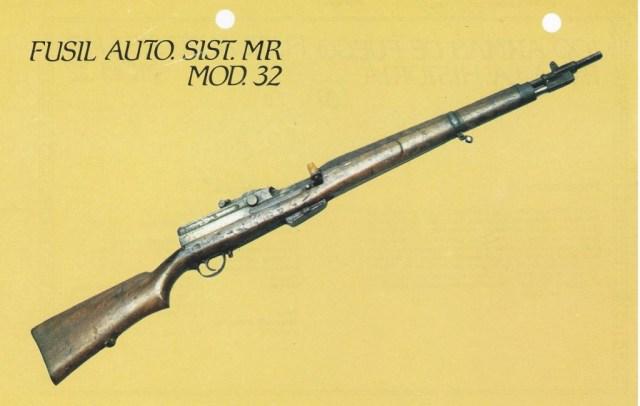 Spanish Model 1932 prototype semiauto rifle