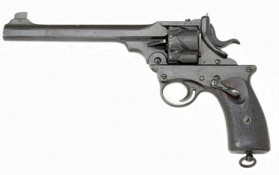 Webley Fosbery automatic revolver