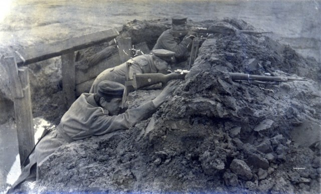 Trench periscope 1916
