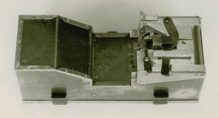 Browning 1919 experimental belt box - bottom