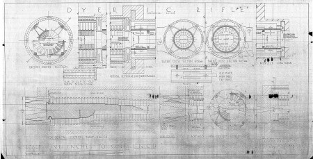 Dyer multi-caliber rifle blueprints
