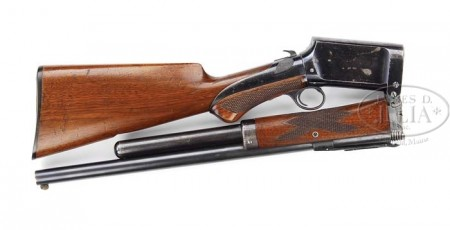 Burgess folding shotgun, folded