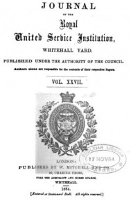 Journal #27 of the Royal United Service Institution