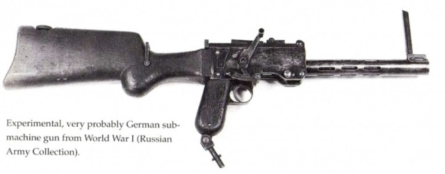 Experimental German SMG based on Maxim 08/18