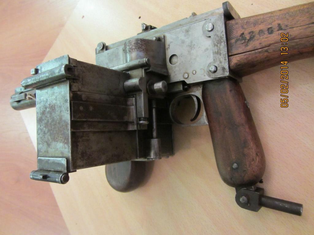 Experimental German 08 18 Maxim Smg Forgotten Weapons