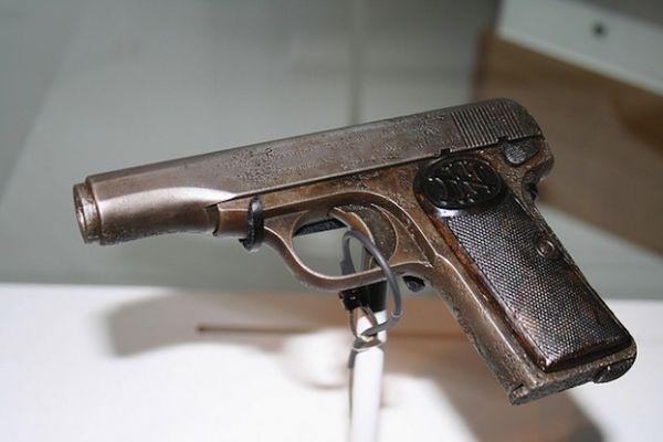 Gavrilo Princip's FN 1910 used to assassinate Archduke Franz Ferdinand