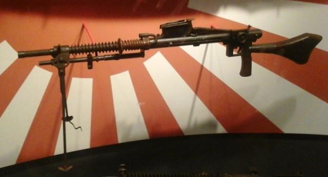 Japanese Type 96 training machine gun