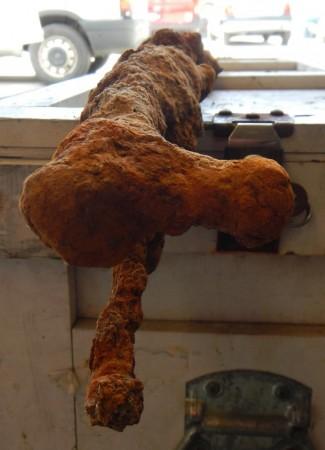 Lee-Metford rifle excavated at Ypres