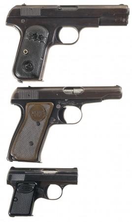 Classy American pistols