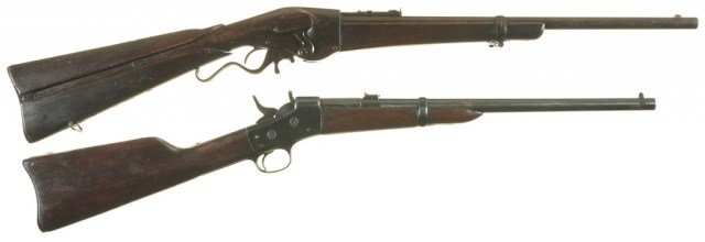 Evans and Rolling Block carbines