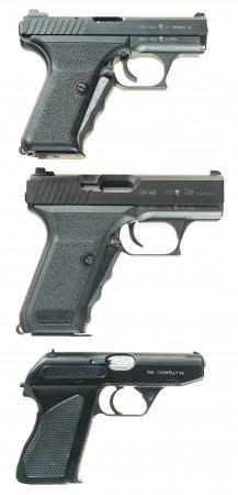Less common HK pistols