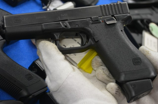 Trials Glock with thumb safety