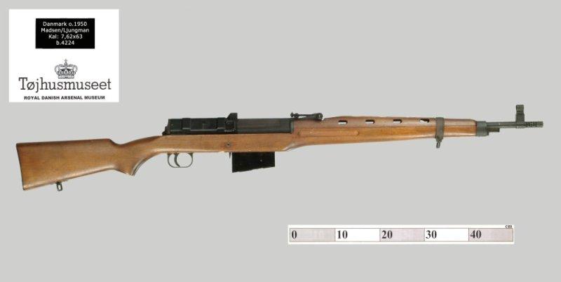 7.62mm Madsen-Ljungman rifle