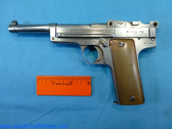 Chinese mystery pistol